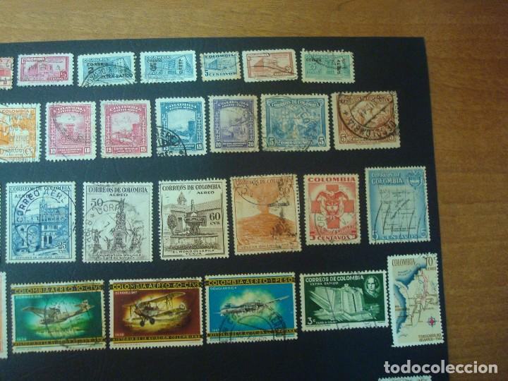 Sellos: Colombia-Lote de 47 Sellos distintos - Foto 3 - 139568602