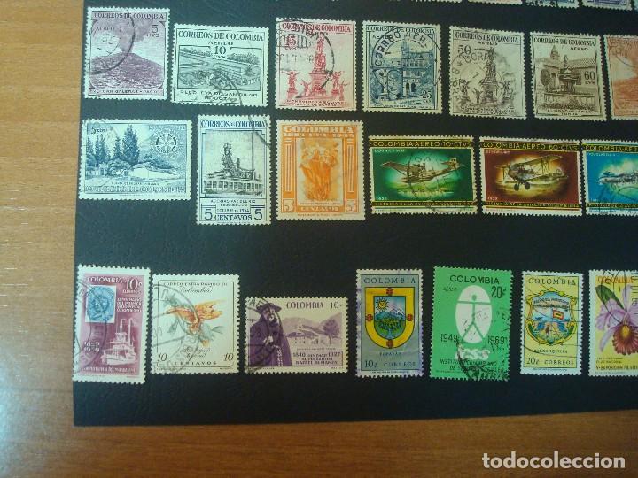 Sellos: Colombia-Lote de 47 Sellos distintos - Foto 4 - 139568602