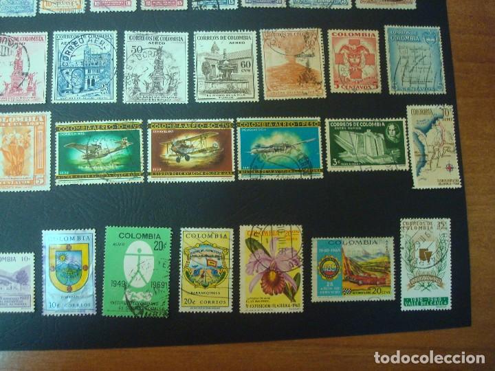 Sellos: Colombia-Lote de 47 Sellos distintos - Foto 5 - 139568602