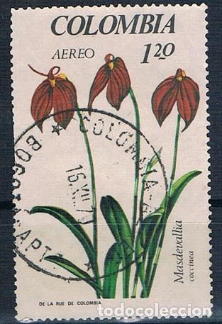 COLOMBIA 1967 SELLO Y PA 471 USADO (Sellos - Extranjero - América - Colombia)