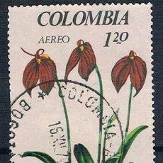 Sellos: COLOMBIA 1967 SELLO Y PA 471 USADO. Lote 145137434