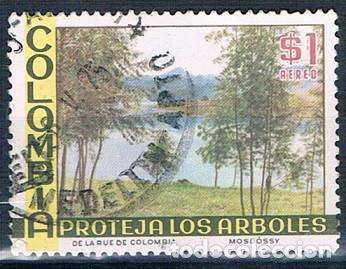 COLOMBIA 1975 SELLO USADO Y PA 578 (Sellos - Extranjero - América - Colombia)