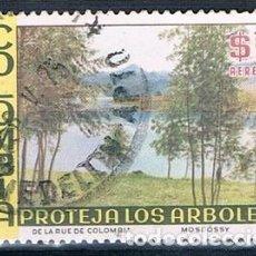 Sellos: COLOMBIA 1975 SELLO USADO Y PA 578. Lote 145137542