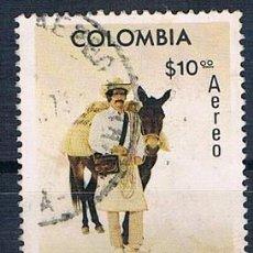 Sellos: COLOMBIA 1977 SELLO USADO Y PA 606 SERIE. Lote 145137714