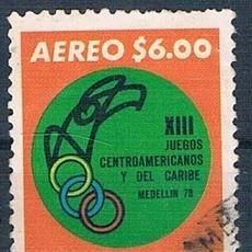 Sellos: COLOMBIA 1977 SELLO USADO Y PA 609 SERIE. Lote 145137730