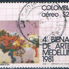 Sellos: COLOMBIA 1981 SELLO USADO MI 1471. Lote 145137770