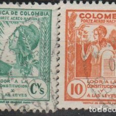 Sellos: LOTE 4 SELLOS COLOMBIA. Lote 147481130
