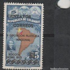 Sellos: LOTE 4 SELLOS SELLO COLOMBIA. Lote 147481650