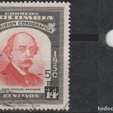 Sellos: LOTE 4 SELLOS SELLO COLOMBIA. Lote 147481702