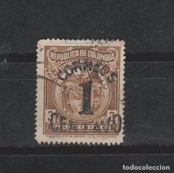 LOTE 4 SELLOS SELLO COLOMBIA (Sellos - Extranjero - América - Colombia)