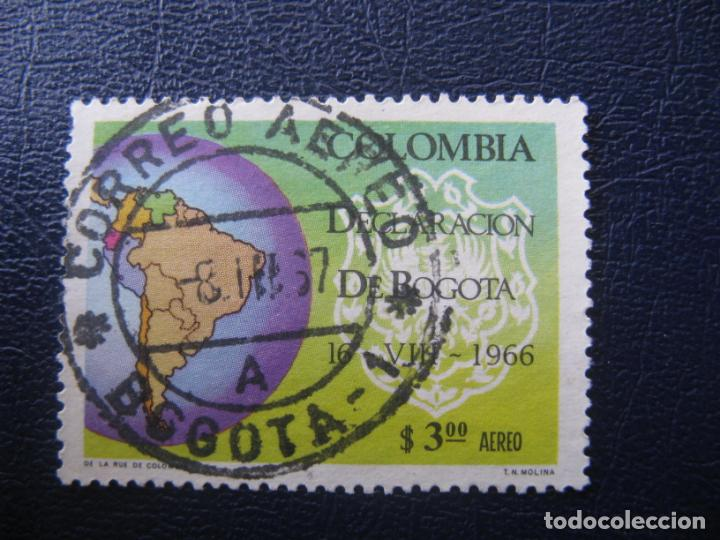 COLOMBIA, 1967 DECLARACION DE BOGOTA, YVERT 467 AEREO (Sellos - Extranjero - América - Colombia)