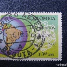 Sellos: COLOMBIA, 1967 DECLARACION DE BOGOTA, YVERT 467 AEREO. Lote 149465866