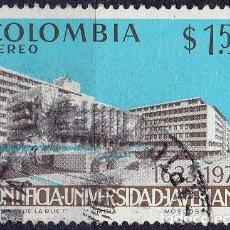 Sellos: 1973 - COLOMBIA - 350º ANIVERSARIO UNIVERSIDAD PONTIFICIA JAVERIANA - YVERT PA 560. Lote 150201698