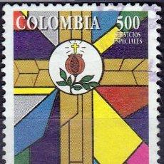 Sellos: 1996 - COLOMBIA - IV CENTENARIO COMUNIDAD SAN JUAN DE DIOS - YVERT 1054. Lote 150235306