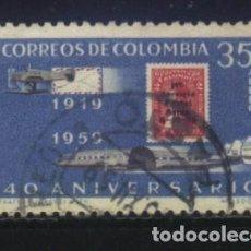 Sellos: S-2982- REPUBLICA DE COLOMBIA. . Lote 154406250