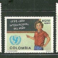 Sellos: COLOMBIA 1979 AEREO IVERT 637/39 *** AÑO INTERNACIONAL DEL NIÑO. Lote 156278806