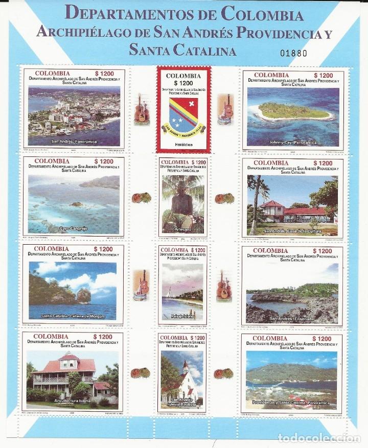 R8.G14 / COLOMBIA 1325/36 MNH**, ARCHIPIELAGO SAN ANDRES PROVIDENCIA Y SANTA CATALINA (Sellos - Extranjero - América - Colombia)