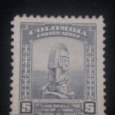 Sellos: CORREOS COLOMBIA, 5 CENT, MOTIVOS LOCALES, 1952, . Lote 179102030