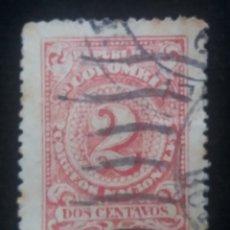 Sellos: CORREOS COLOMBIA, 2 CENT, 1904, . Lote 179102742