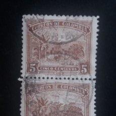 Sellos: CORREOS COLOMBIA, 5 CENT, CAFE SUEVE,1932, . Lote 179103022
