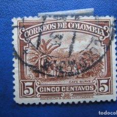 Sellos: -COLOMBIA 1932, PLANTACION DE CAFE, YVERT 266 . Lote 179534472
