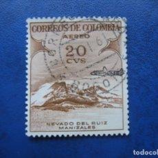 Sellos: -COLOMBIA 1954, YVERT 242 AEREO. Lote 179535031