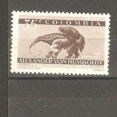 Sellos: COLOMBIA, 1960,CAT.YT.PA.348 A 350,NUEVOS, GOMA ORIGINAL, FIJASELLOS.ALGUN PUNTO DE OXIDO.. Lote 186114292