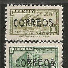 Sellos: COLOMBIA YVERT NUM. 422/424 ** SERIE COMPLETA SIN FIJASELLOS. Lote 253183360