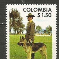 Sellos: COLOMBIA YVERT NUM. 697 ** SERIE COMPLETA SIN FIJASELLOS. Lote 253183415