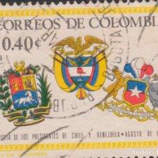 Sellos: SELLO COLOMBIA USADO FILATELIA CORREOS STAMP POST POSTAGE. Lote 192155316