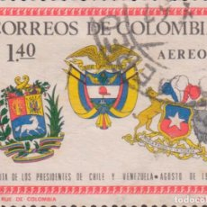 Sellos: SELLO COLOMBIA USADO FILATELIA CORREOS STAMP POST POSTAGE. Lote 192155337