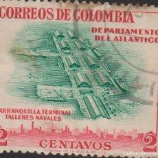 Francobolli: SELLO COLOMBIA USADO FILATELIA CORREOS STAMP POST POSTAGE. Lote 192644277