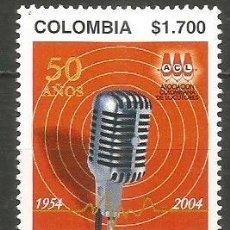 Sellos: COLOMBIA YVERT NUM. 1292 ** SERIE COMPLETA SIN FIJASELLOS. Lote 194884081