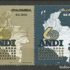 Sellos: COLOMBIA YVERT NUM. 1289/1290 ** SERIE COMPLETA SIN FIJASELLOS. Lote 194884447