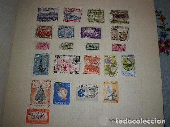 COLOMBIA - LOTE DE 22 SELLOS (Sellos - Extranjero - América - Colombia)