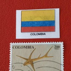Sellos: COLOMBIA (B) - 1 SELLO.CIRCULADO. Lote 200799772