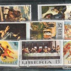 Sellos: LOTE DE SELLOS DE LIBERIA. Lote 201647540