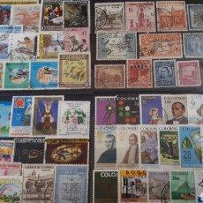 Sellos: SELLOS USADOS DE COLOMBIA Y123. Lote 203286288