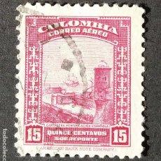 Sellos: 1941 COLOMBIA ASPECTOS COLOMBIANOS. Lote 206498655