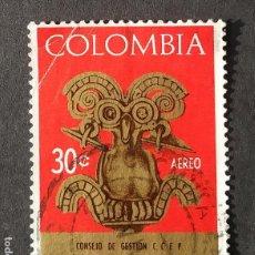 Sellos: 1967 COLOMBIA COMITÉ CONSULTIVO UNIÓN POSTAL UNIVERSAL. Lote 206500588