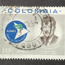 Sellos: 1963 COLOMBIA ALIANZA PARA EL PROGRESO. Lote 206586085