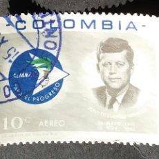 Sellos: 1963 COLOMBIA ALIANZA PARA EL PROGRESO. Lote 206825377