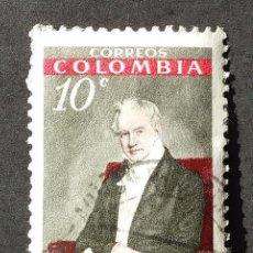 Sellos: 1960 COLOMBIA CENTENARIO NACIMIENTO HUMBOLDT. Lote 206826570