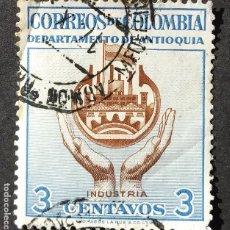 Sellos: 1956 COLOMBIA ASPECTOS COLOMBIANOS. Lote 206828033