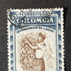 Sellos: 1956 COLOMBIA ASPECTOS COLOMBIANOS. Lote 206830223