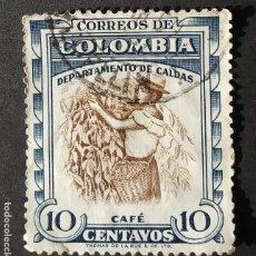 Sellos: 1956 COLOMBIA ASPECTOS COLOMBIANOS. Lote 206830303