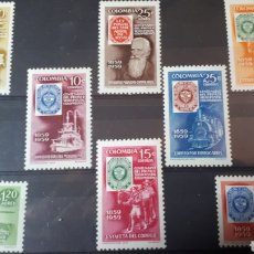 Sellos: SELLOS CON GOMA ORIGINAL DE COLOMBIA W011. Lote 214101932