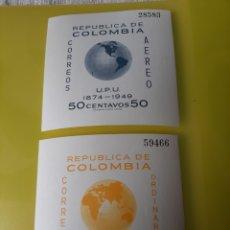 Sellos: 1949 COLOMBIA HOJA BLOQUE UPU NUEVA. Lote 219687421