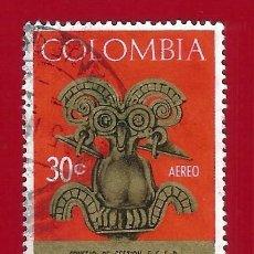 Sellos: COLOMBIA. 1967. ARTE PRECOLOMBINO. Lote 220387403