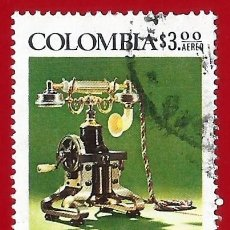 Sellos: COLOMBIA. 1976. ALEXANDER GRAHAM BELL. TELEFONO. Lote 220629437